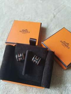 Hermes Earrings Pop H