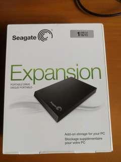 Brand new Seagate portable harddisk 1TB. Usb 3.0
