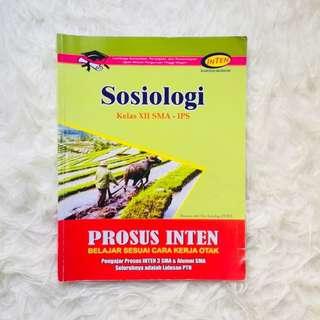 Buku Bimbel INTEN Sosiologi Soal SBMPTN