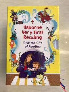🚚 Usborne very first reading