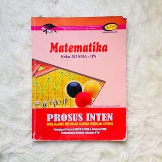 Buku Bimbel INTEN Matematika Soal SBMPTN