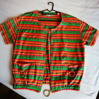 Bohemian style outer wear