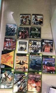 PS3 Games Xbox game 自行出價