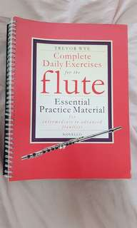 Flute Practices, Etudes, Scales books (For Students)