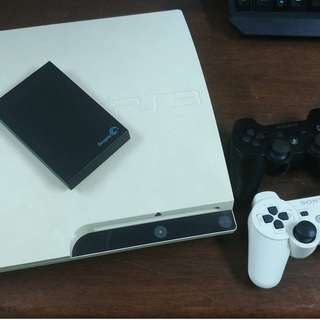 Ps3 white jailbreak + 1TB full ps3 game