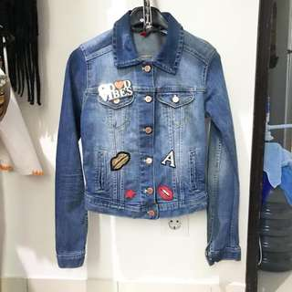 Rare H&M denim jacket Ori 👍