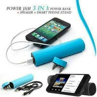 3in1 Power Jam(Speaker+Powerbank+CP Stand)