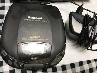 Panasonic cd 機連叉電