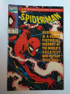 🚚 Marvel Spider-Man Saga 1st Issue Rare Collector's Item