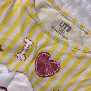 Random Uniqlo girl shirts