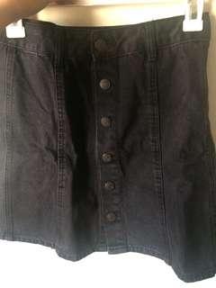 Rok jeans pull&bear