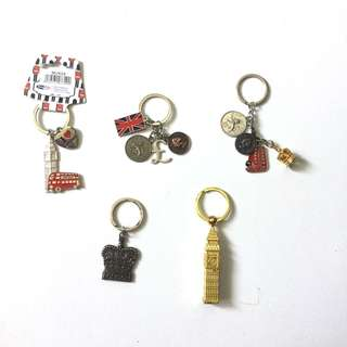 BNEW: Great Britain Keychains
