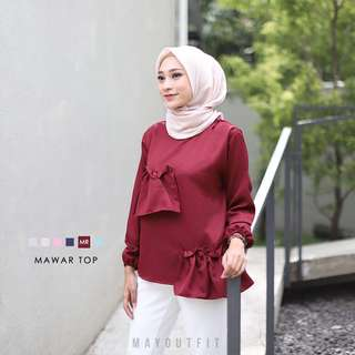 Flare Top by Mayoutfit