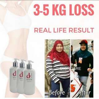 3-5kg weightloss