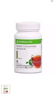 Original Authentic Herbalife Herbal Concentrate Tea 100grams