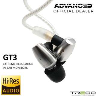 ADVANCED GT3 In-Ear Earphone with In-Line Microphone/Remote