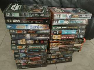 Star Wars Novels (TWO DOLLARS EACH)