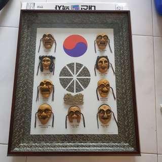 Hahoe Byeolsin Exorcism (9 masks)