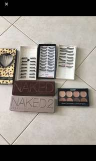 Urban Decay Naked and Naked 3Palette