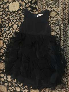 H&M kids black dress