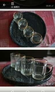 啤酒杯款功夫茶/意式咖啡杯。