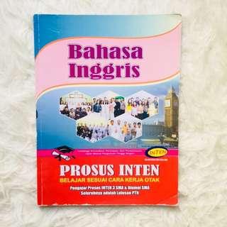 Buku Bimbel INTEN Bahasa Inggris Soal SBMPTN