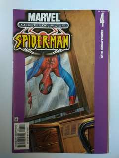 🚚 Marvel Ultimate Spider-Man Rare Issue 4