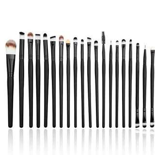 20pcs Professional Makeup Brushes Set for Powder / Foundation / Eyeshadow Cosmetic Kit
