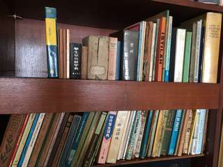 Books and dictionary