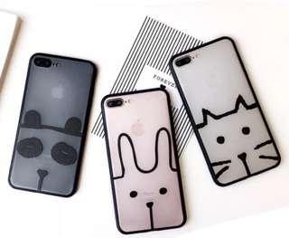 iPhone 6s case Apple手機軟殼 (兔兔圖案)