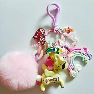 Tokidoki unicorno tokimeki bag charm fob