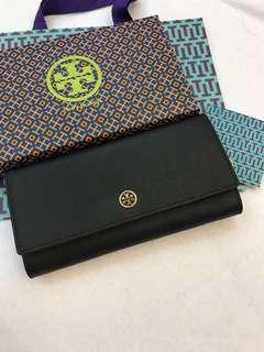 Original Tory Burch women long wallet purse pouch coin bag