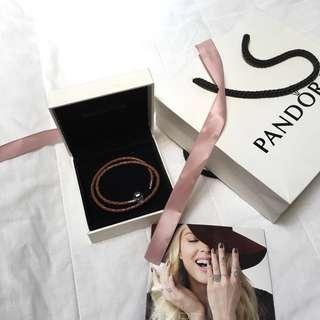 16 cm BrandNew Pandora Double Leather Brown