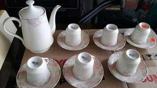 Evening tea set