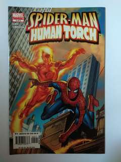 🚚 Spider-Man Human Torch (Marvel Limited Series)