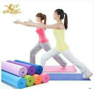 Matrass matras yoga mat bonus sarung tas bahan tebal premium quality