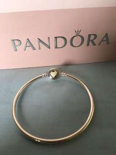 Pandora Loving Heasrt Clasp Bangle