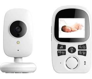 Ettgear digital audio/video baby monitor