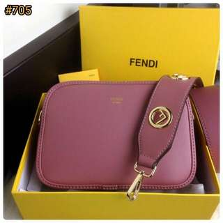 Fendi Selleria Camera FF Strap