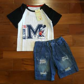 Mickey all star set