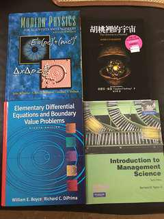 Modern Physics / Management Science / Differential Equation