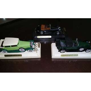 Die cast Vintage Toy Cars