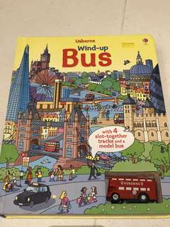 Usborne wind-up bus