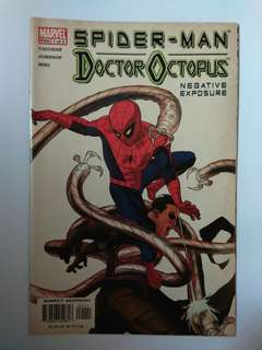 🚚 Marvel Spider-Man Doctor Octopus Negative Exposure
