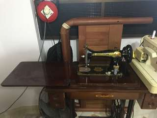 Antique Butterfly Sewing Machine