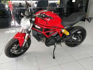Ducati Monster 797 Red (New Km.0)