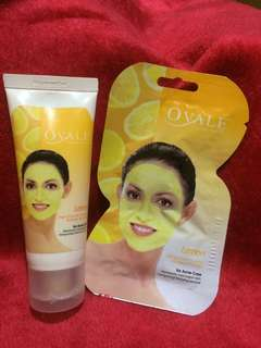 PAKET OVALE FACE MASK LEMON (FOR ACNE CARE)