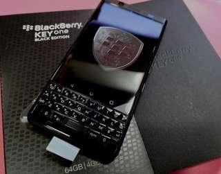 三禾電氣 全黑版 Blackberry Keyone 香港行貨 一年保養 現貨發售 Blackberry Keyone  hong kong version