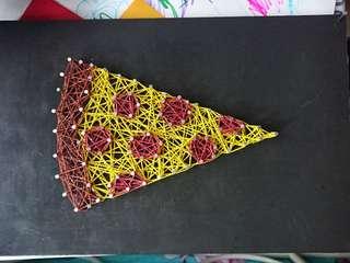 Pizza String Art