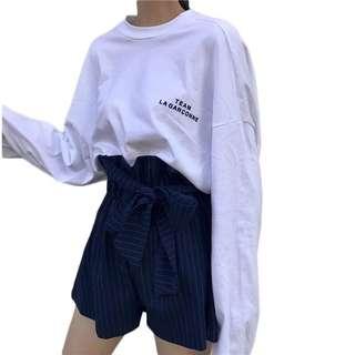 🚚 白色oversize上衣